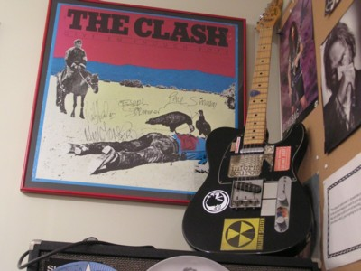 1978 Telecaster with The Clash Poster